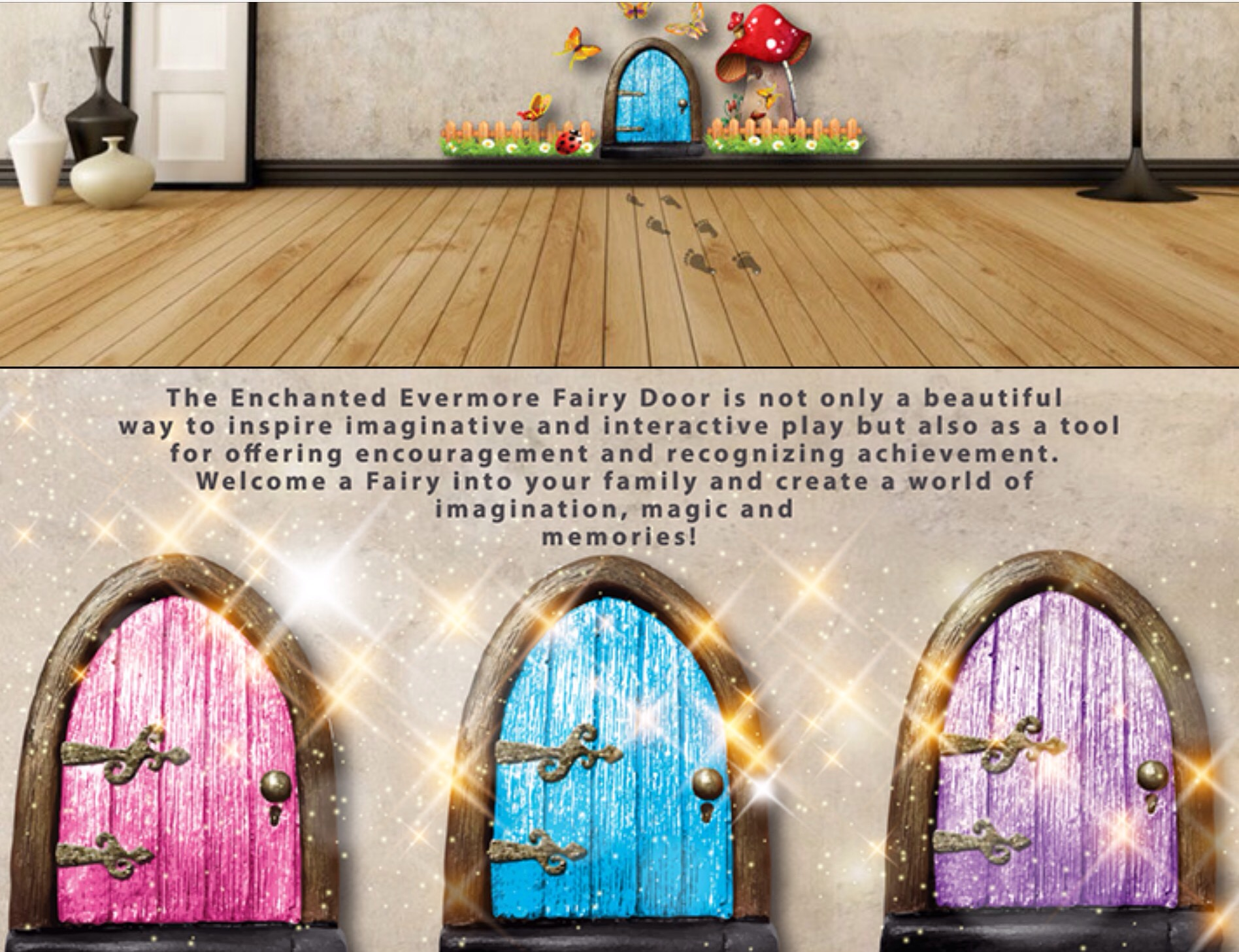 Enchanted door 16032617 sc 1 st goodreads for The works fairy door