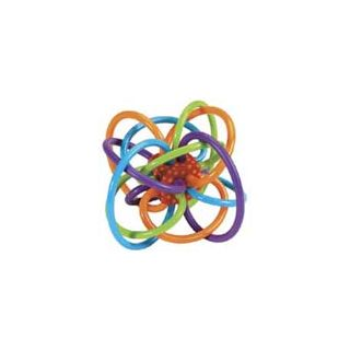 Baby rattle tangle toy