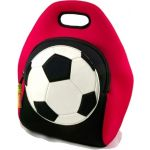 Soccer ball lunch bag