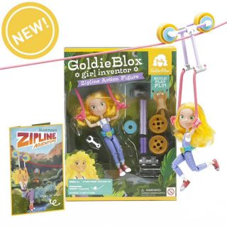 Goldieblox zipline